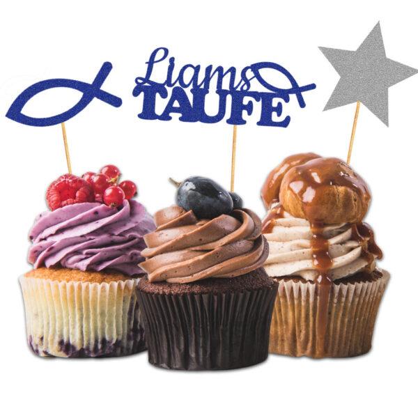 Cake Topper Taufe Personalisiert